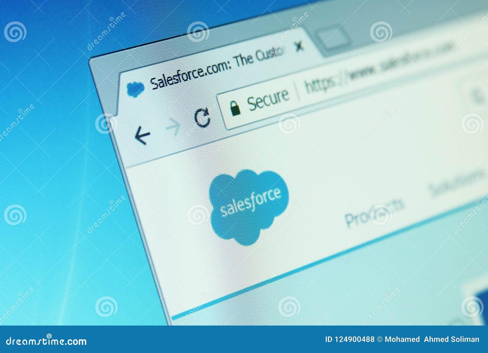 Salesforce-Website