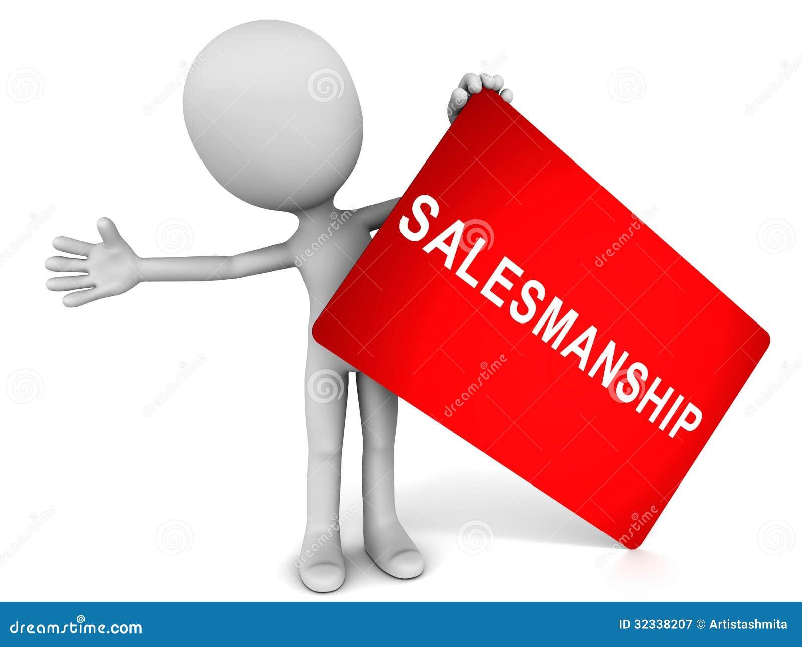 Salesmanship Royalty Free Stock Photography - Image: 32338207
