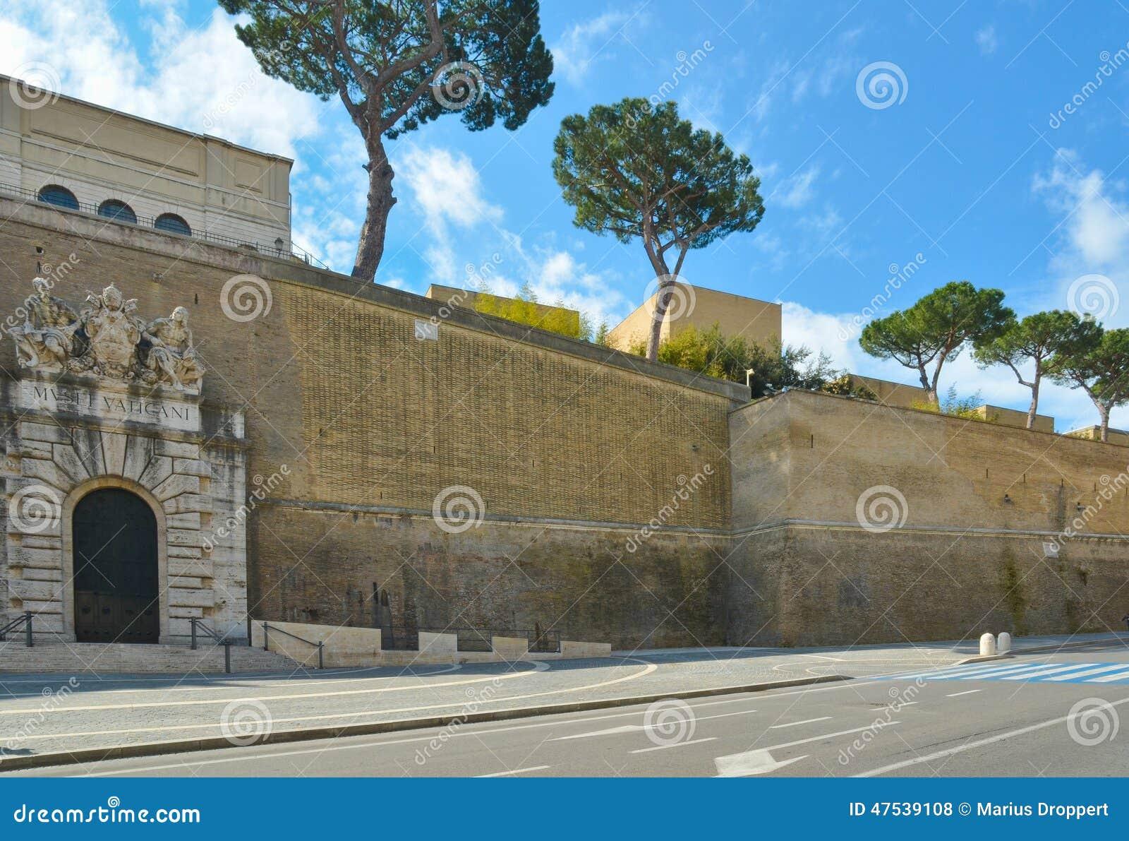 Salida De Los Museos Del Vaticano Foto de archivo - Imagen de ...