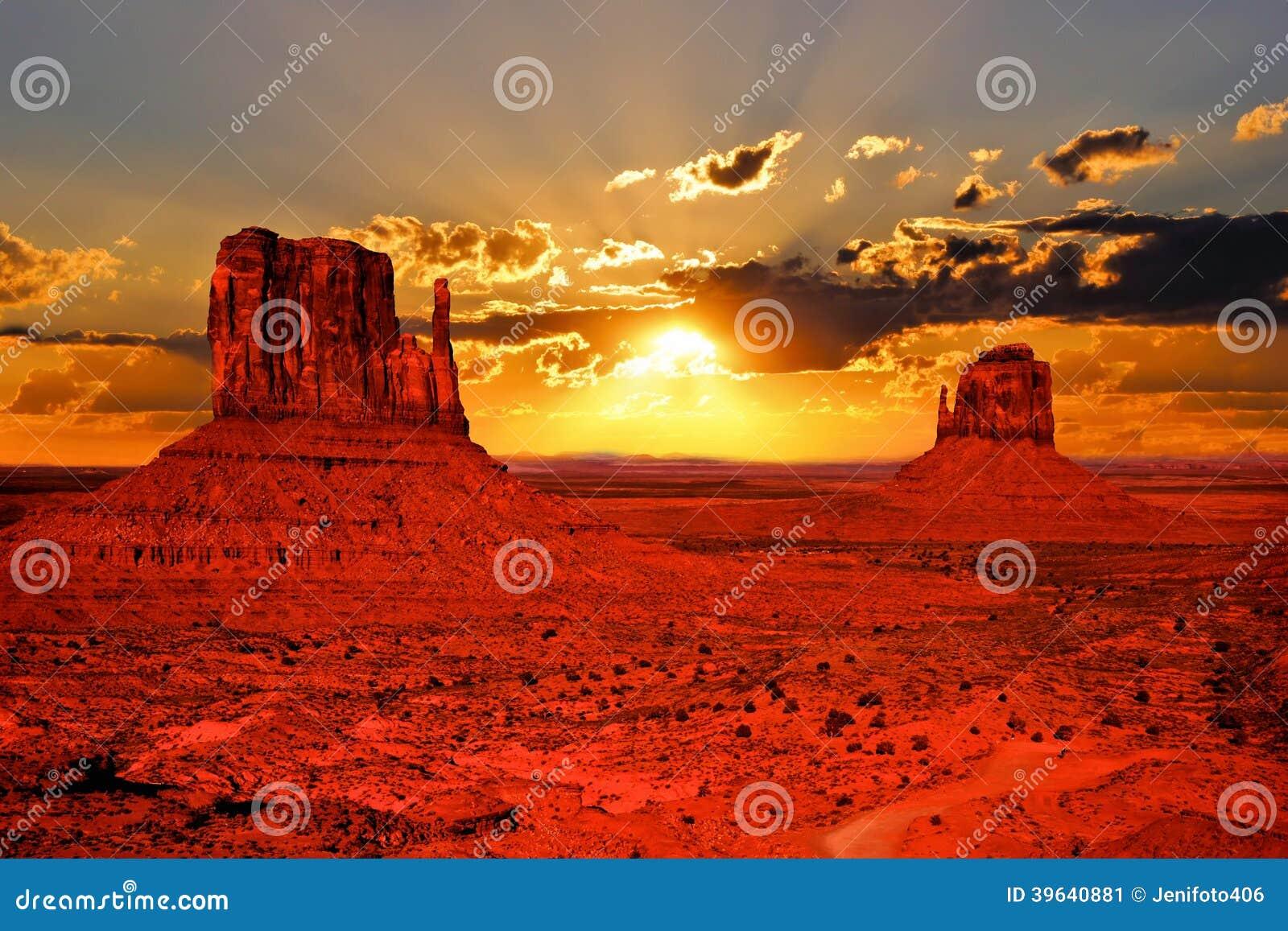 Salida del sol de Arizona