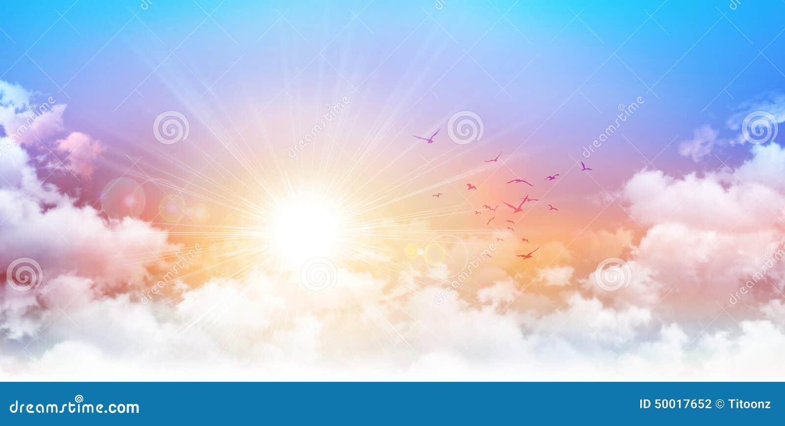 Salida del sol panorámica