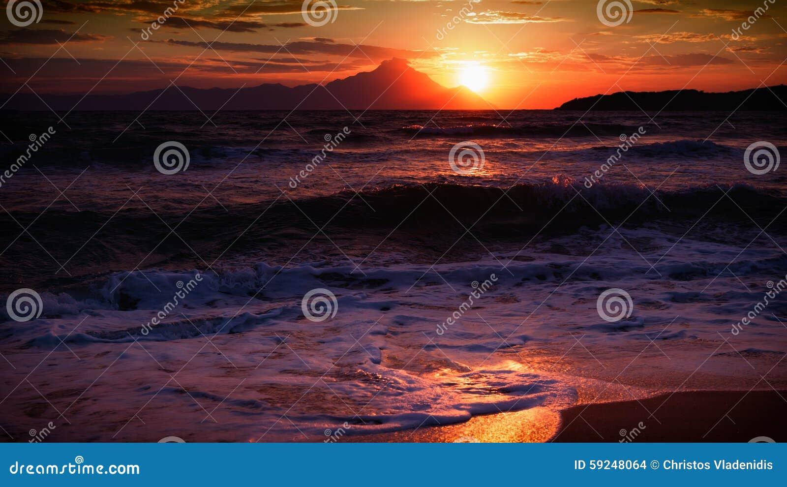 Salida del sol reflejada