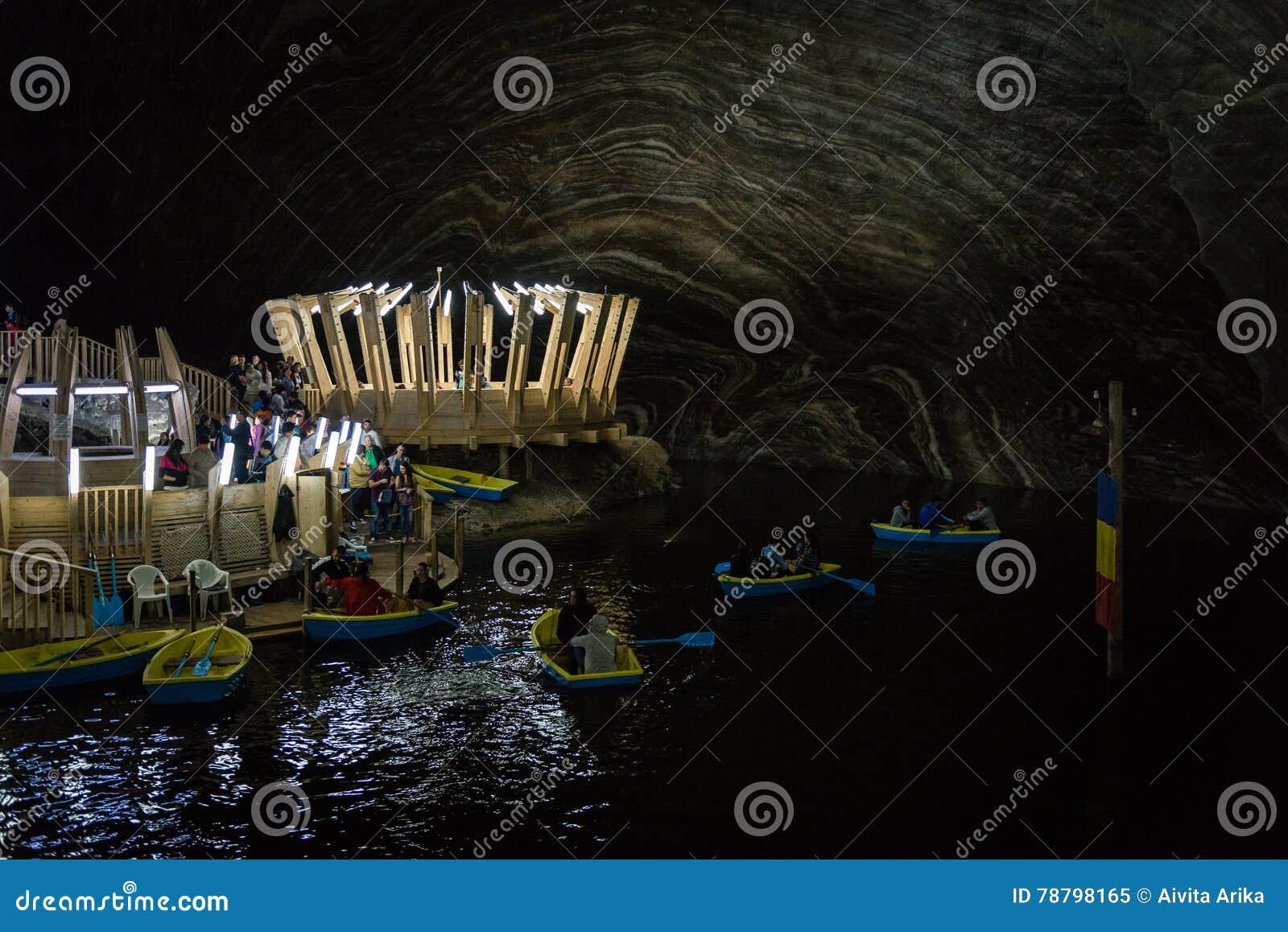 Salina Turda-Salzbergwerk in Rumänien