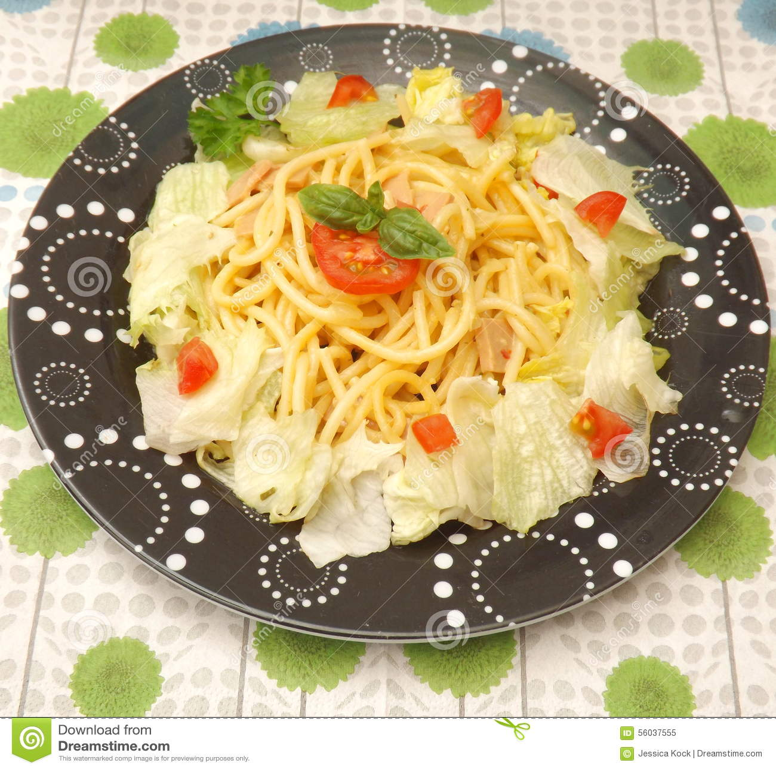 Sallad med pasta