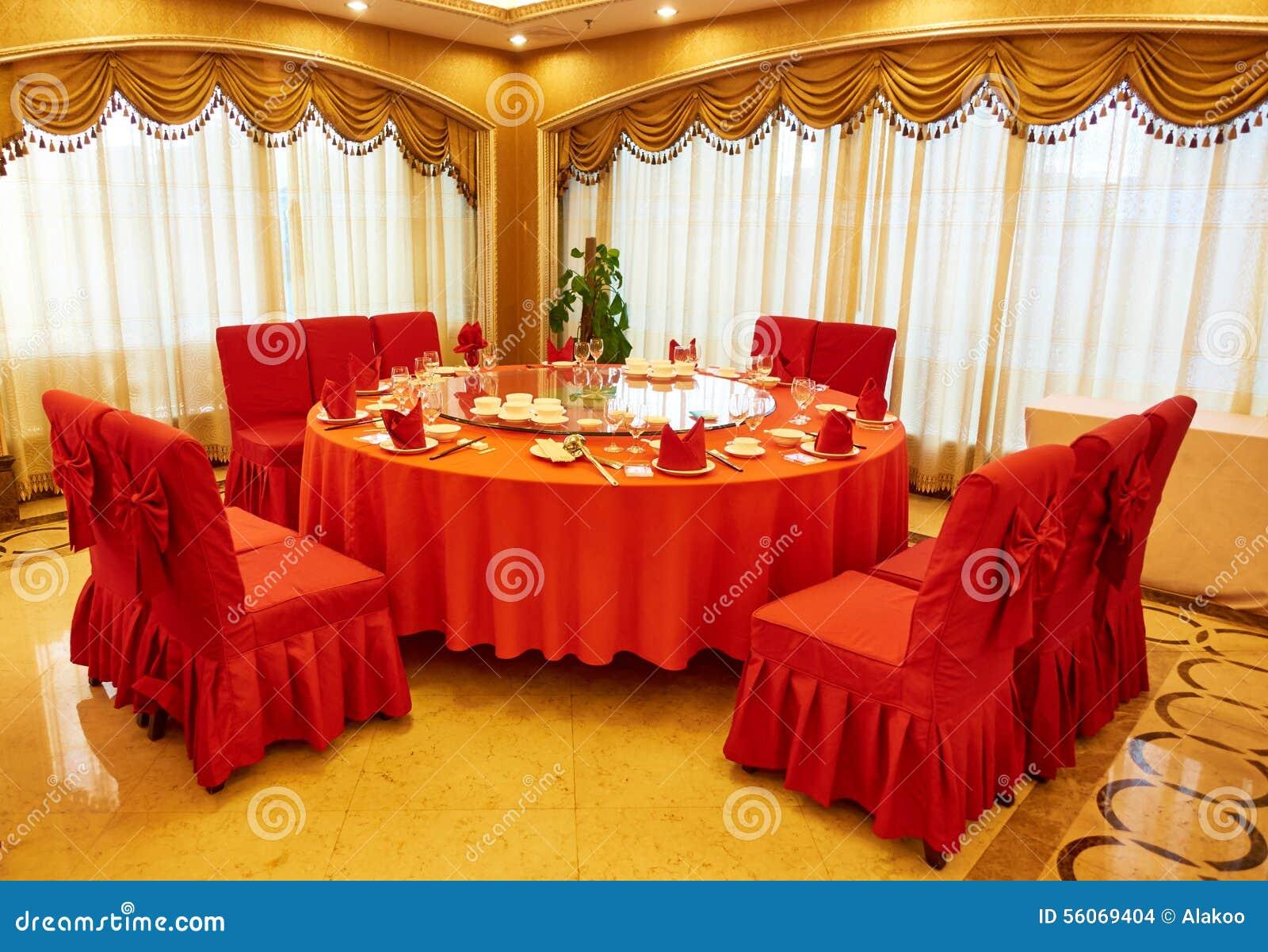 Salle à manger de restaurant