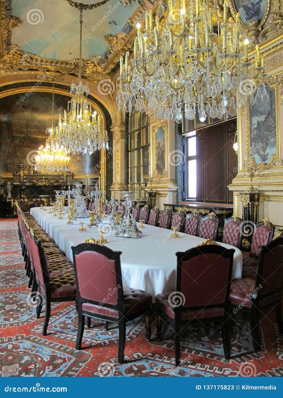 Salle A Manger Paris salle à manger du napoléon iii dans le musée de louvre de