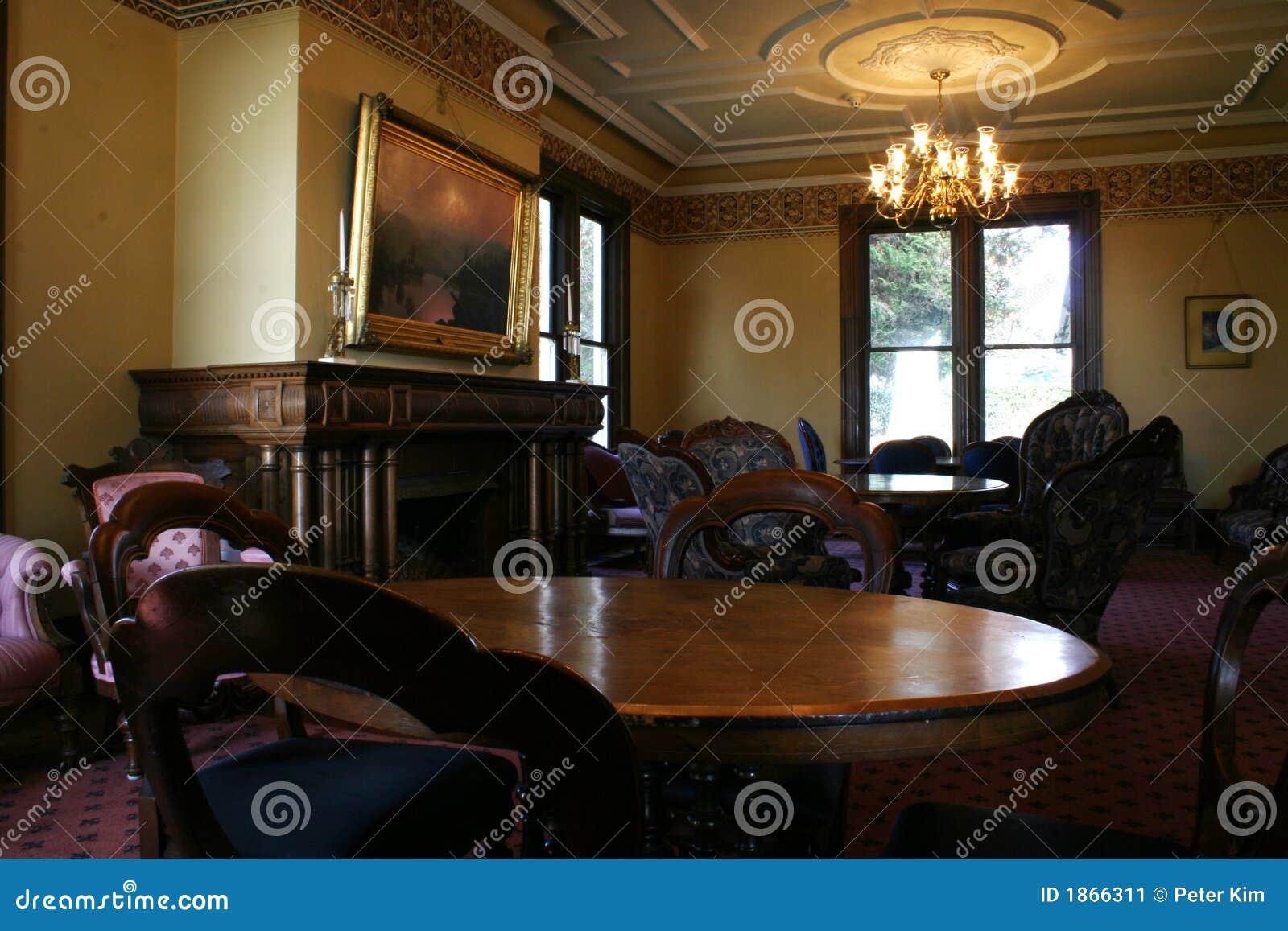 download salle manger victorienne image stock image du amricain 1866311
