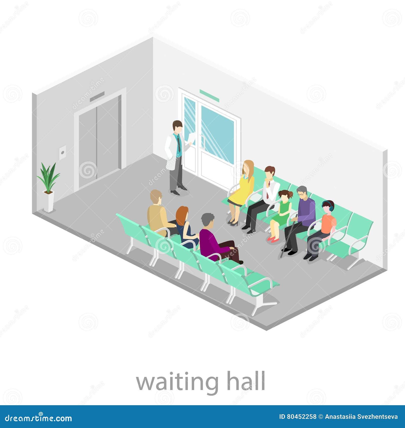 Chaises Salle D Attente Cabinet Medical salle d'attente à l'hôpital les visiteurs s'asseyent sur les