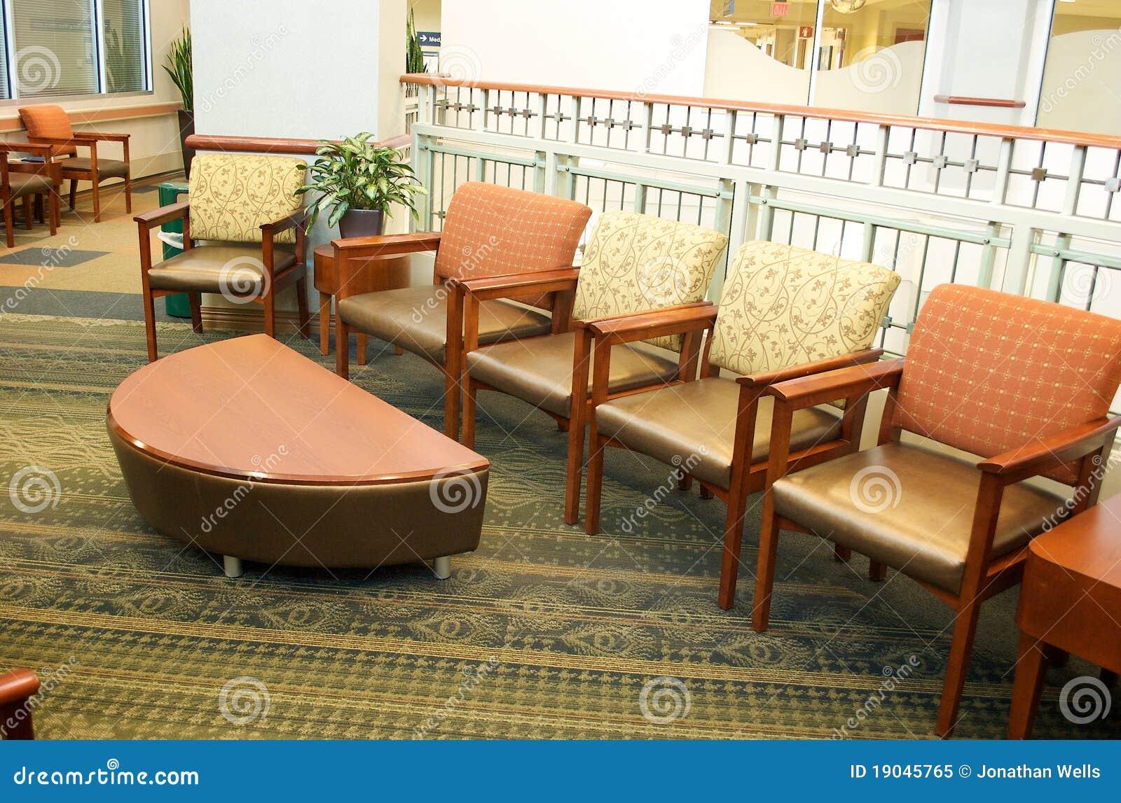 Salle d attente d hôpital