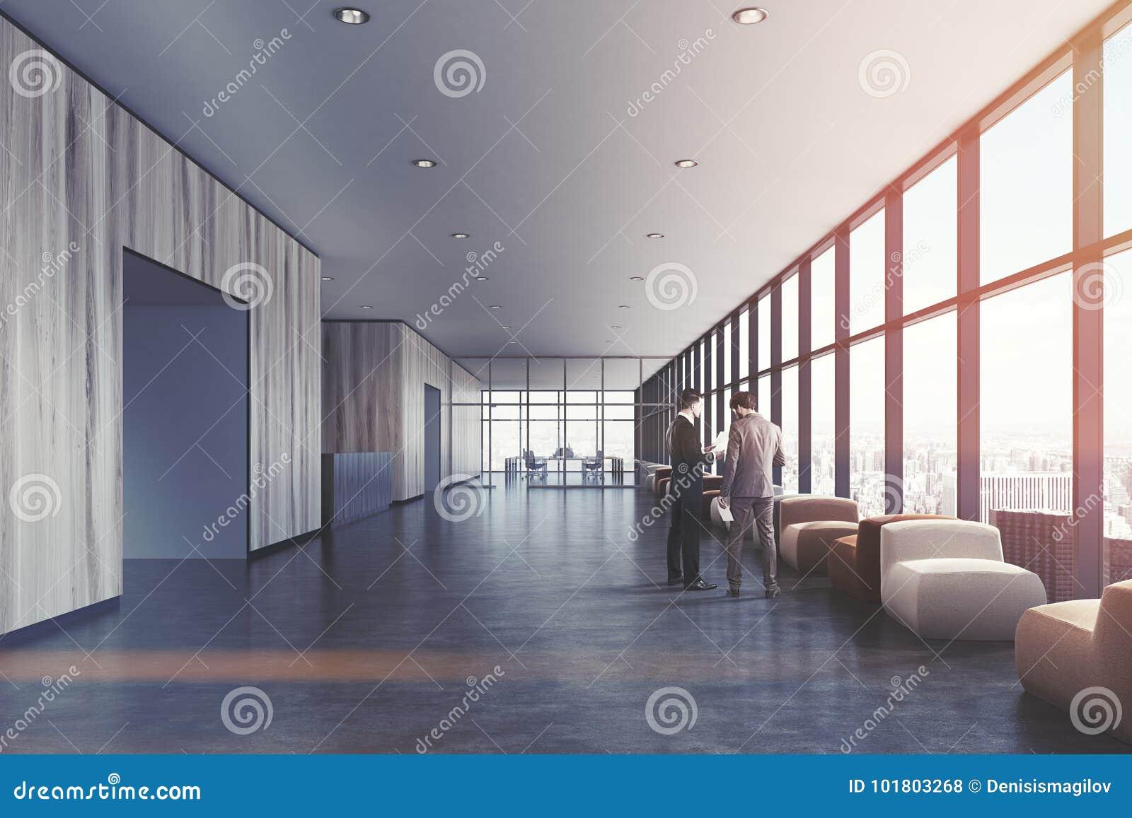 Salle d attente en bois légère bureau de grenier les gens