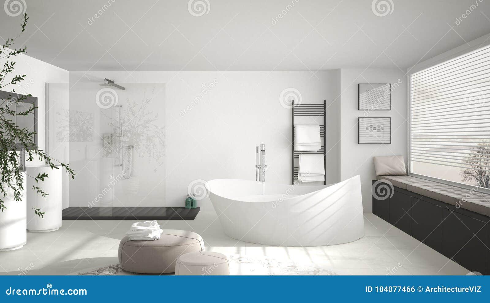 Globe Luminaire Salle De Bain ~ salle de bains classique moderne avec le grand tapis rond grand w