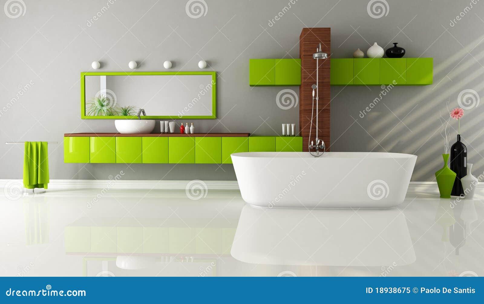 Salle de bains contemporaine photo libre de droits image for Salle de bains contemporaine