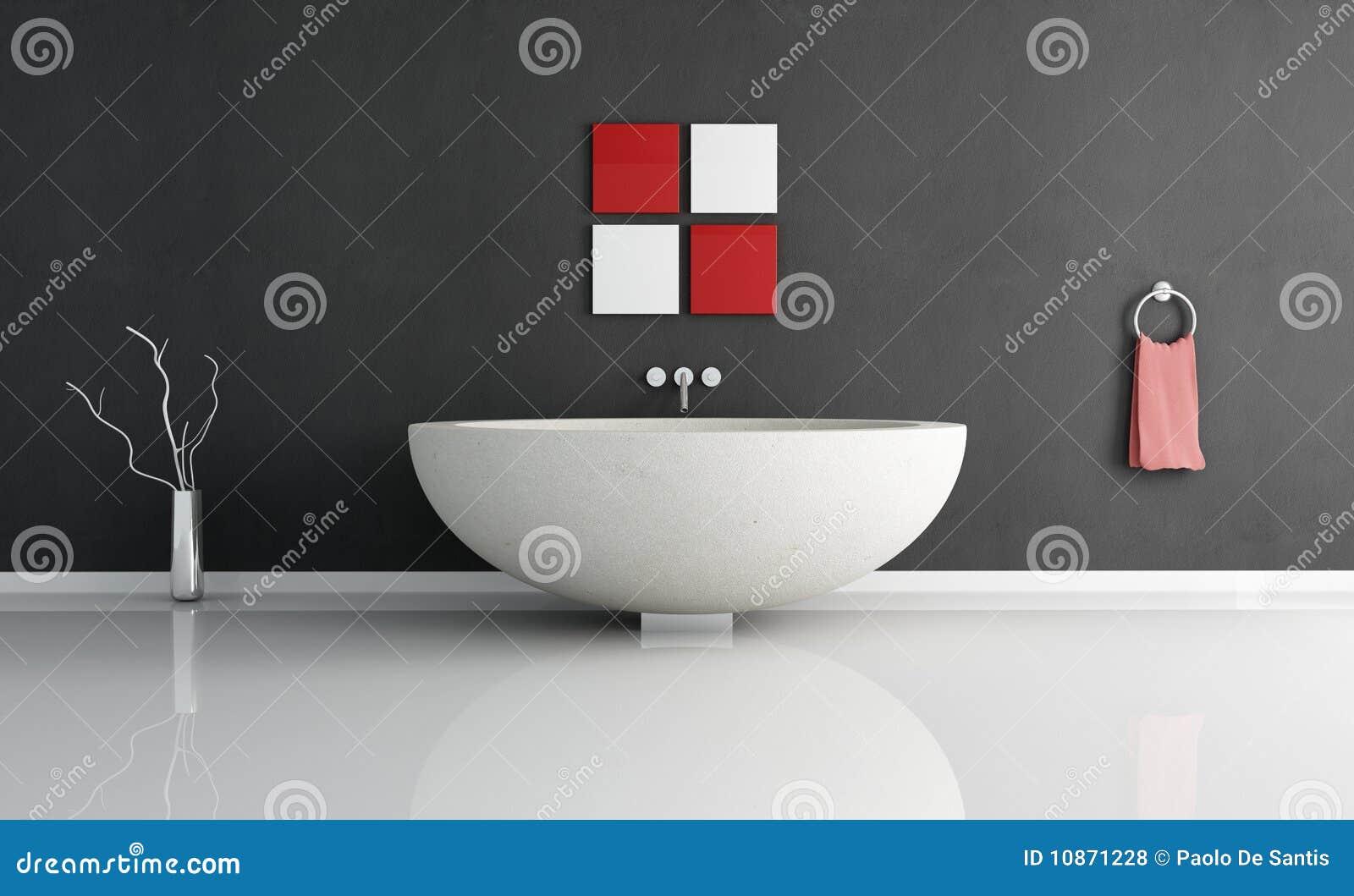 Salle de bains contemporaine essentielle