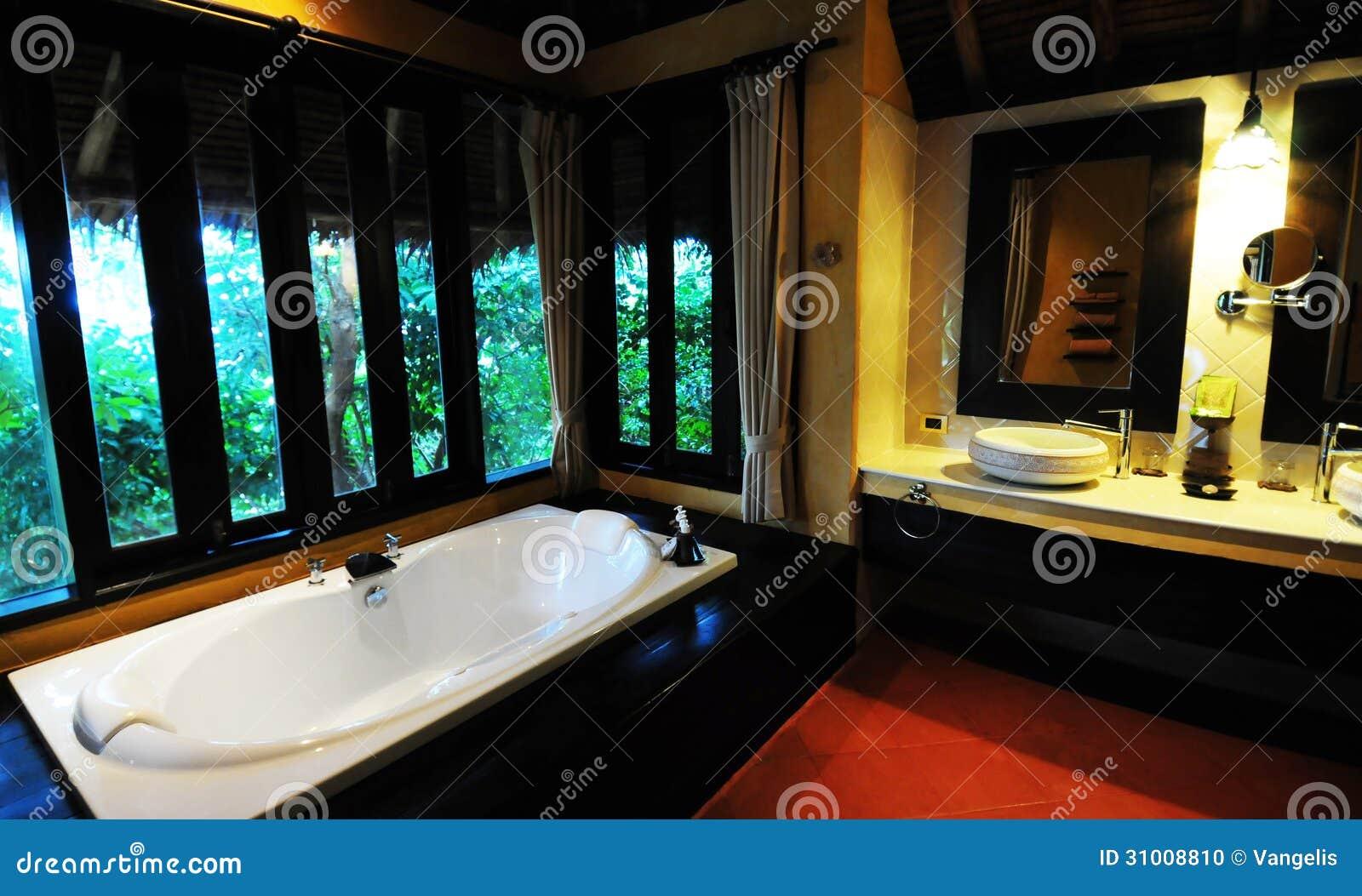 Salle De Bain Luxueuse D Hotel : Salle de bains d hôtel en thaïlande photo stock image