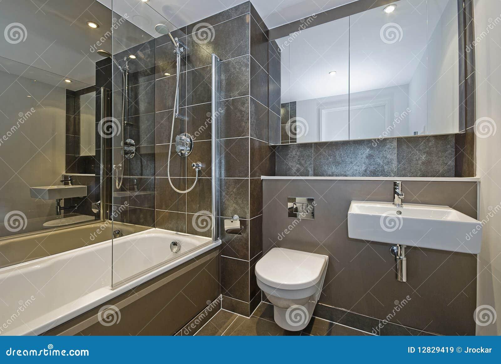 Salle de bains de luxe image stock image du propri t for Salle de bain orientale luxe