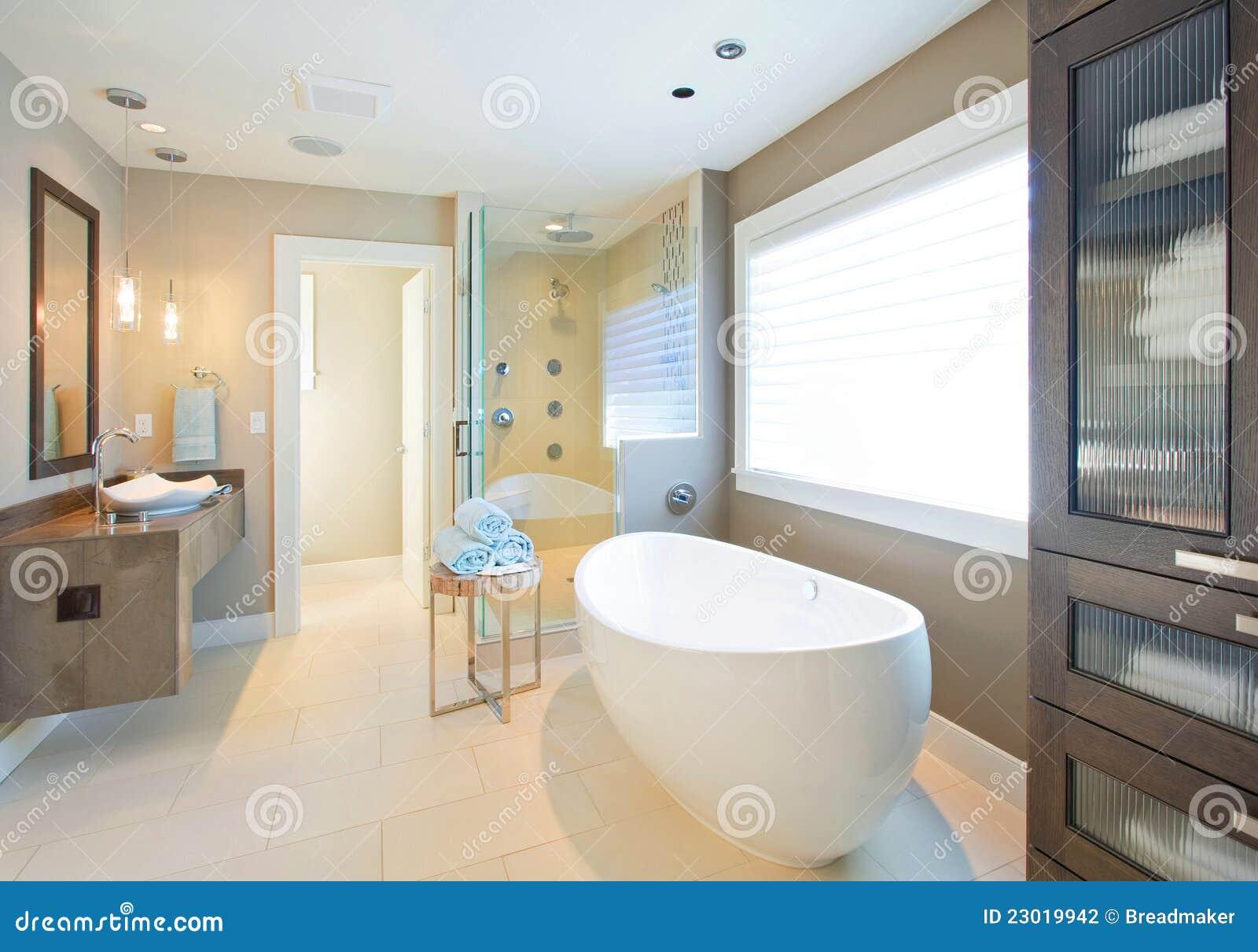Salle De Bain Fleurie ~ salle de bains de luxe photo stock image du maison module 23019942