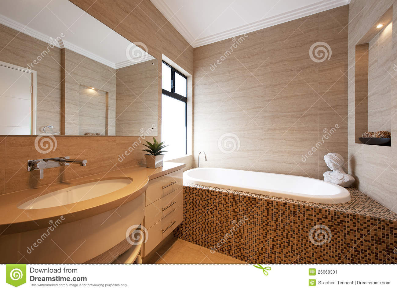 Beautiful salle de bain de luxe moderne photos awesome for Salle d bain moderne