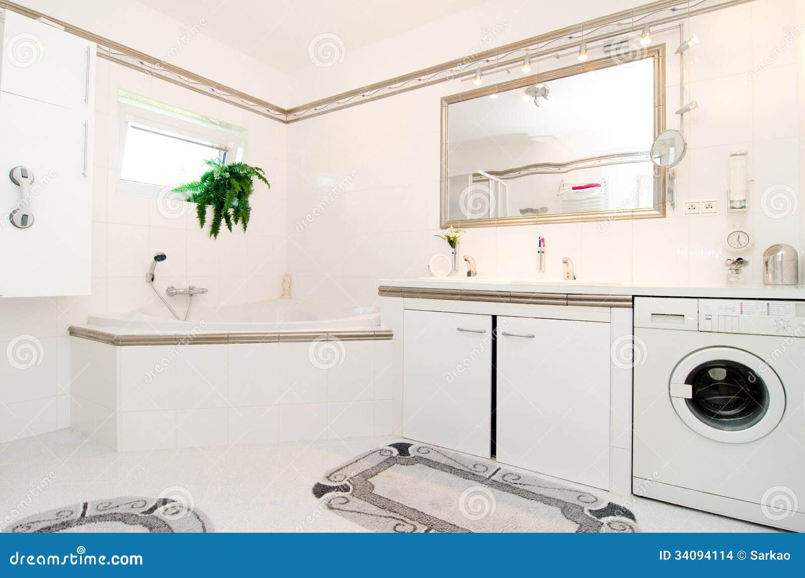 Salle de bains de luxe moderne images stock   image: 34094114