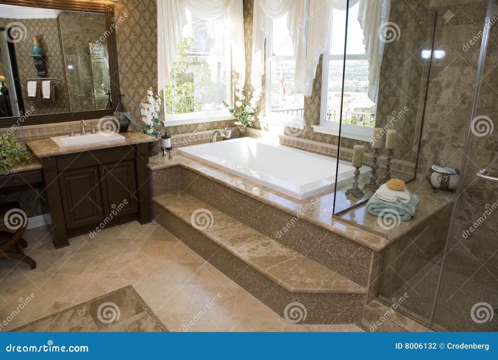 Salle De Bains Luxueuse Photo Stock Image Du Int Rieur 8006132~ Salle De Bain Rangement