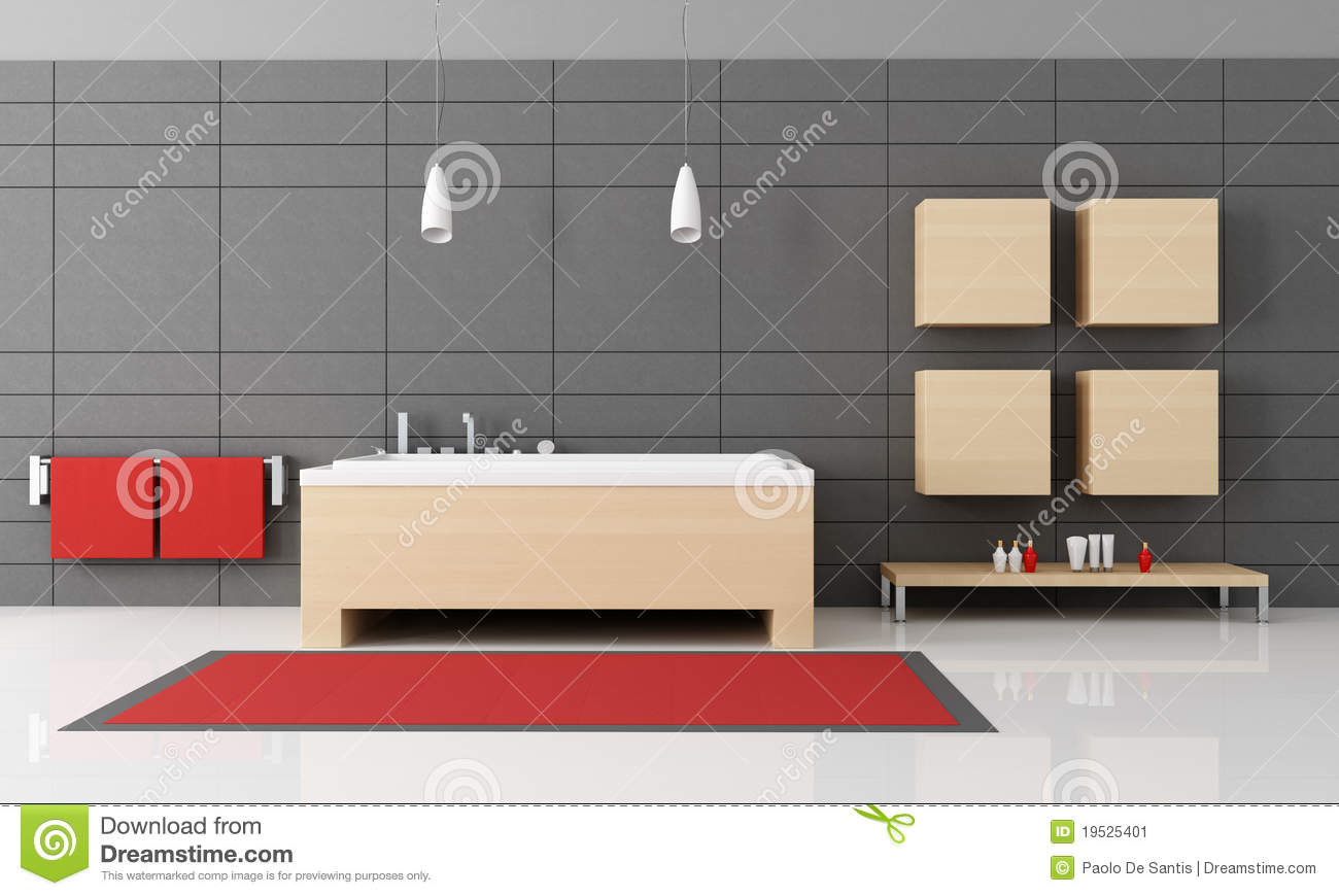 salle de bains minimaliste image stock image 19525401. Black Bedroom Furniture Sets. Home Design Ideas