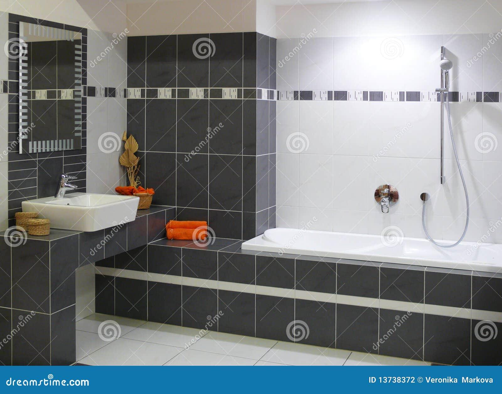Idee deco salle de bain moderne - Idee carrelage salle de bain moderne 2 ...