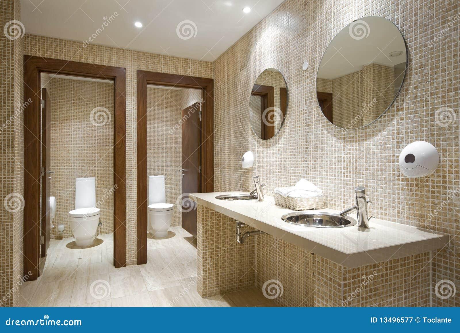 Salle de bains publique