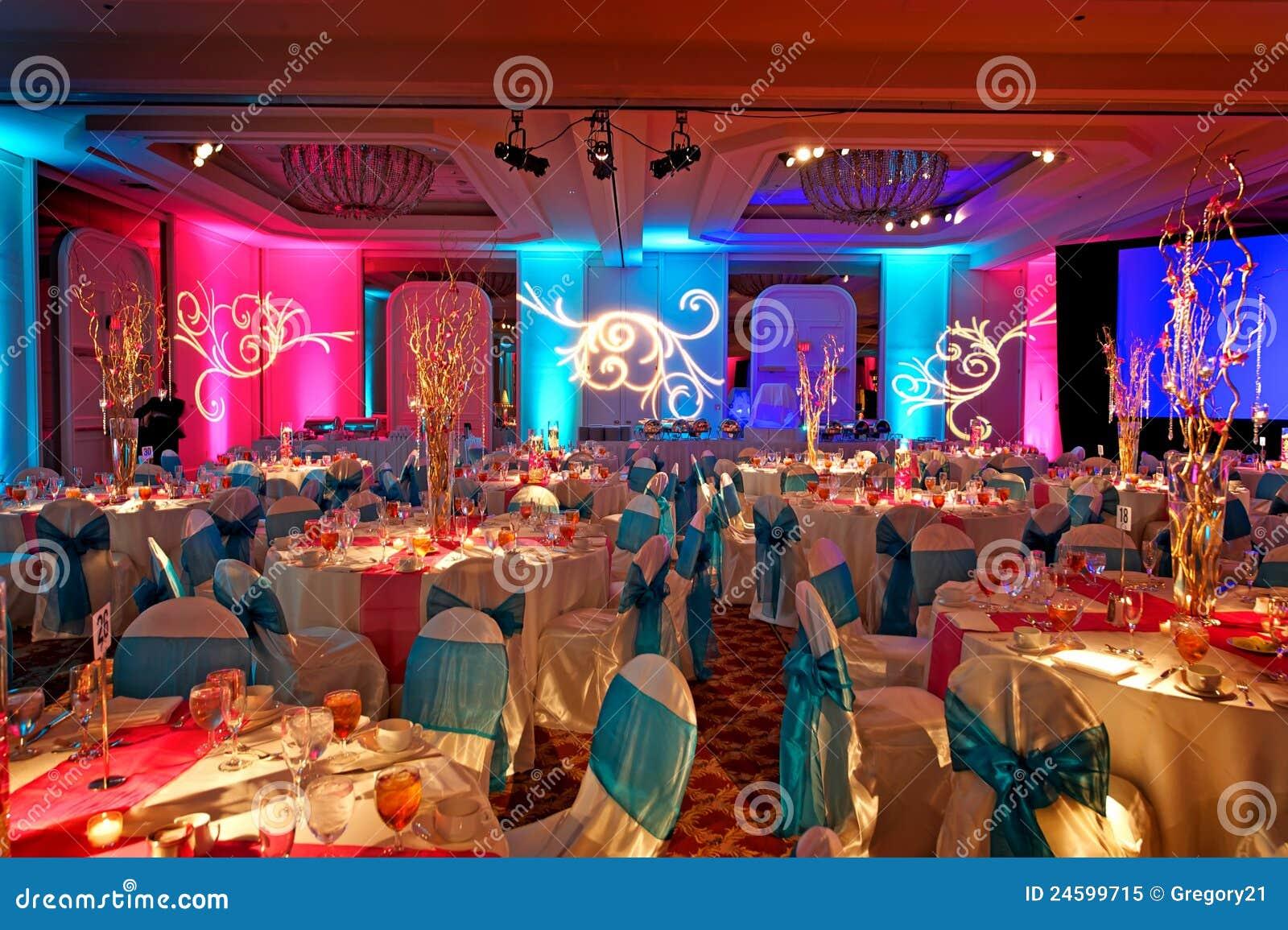 Salle de bal d cor e pour weding indien photo libre de droits image 24599715 - Decoration mariage hindou ...