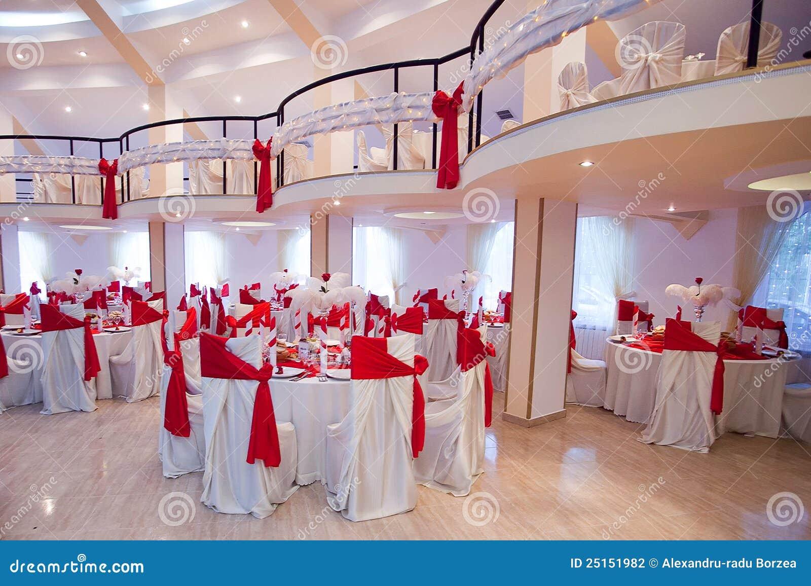 salle de c r monie de mariage photographie stock image. Black Bedroom Furniture Sets. Home Design Ideas
