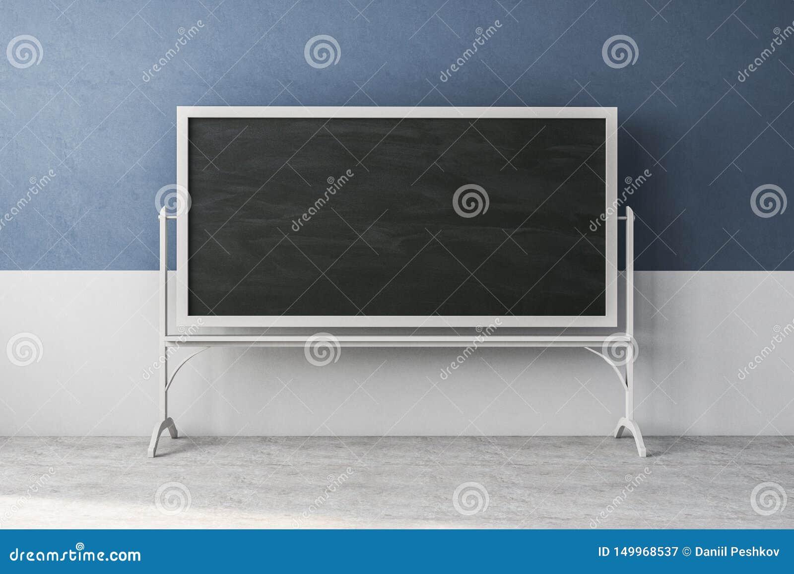 Salle De Classe Contemporaine Avec Le Tableau Vide Illustration Stock Illustration Du Vide Salle 149968537