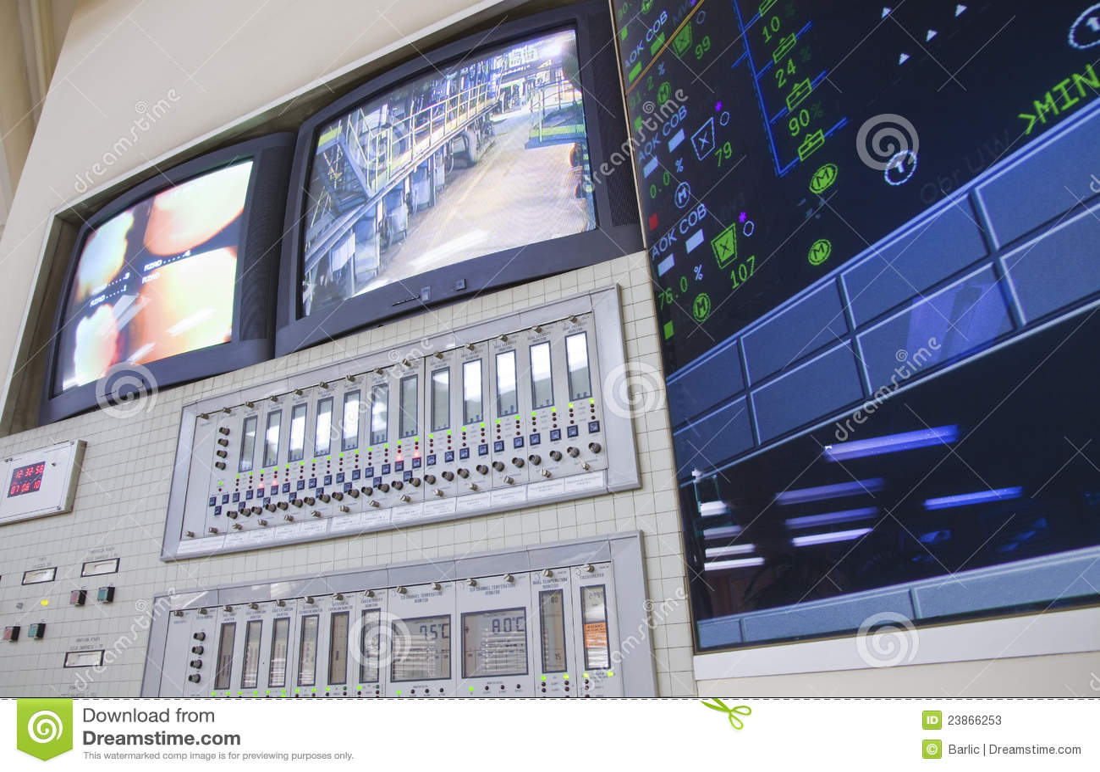 Salle de commande - centrale