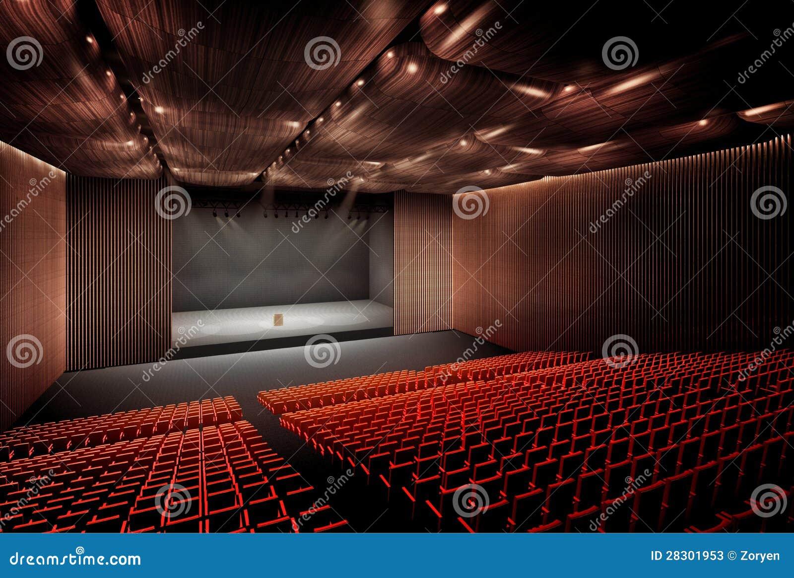 salle de concert photos stock image 28301953