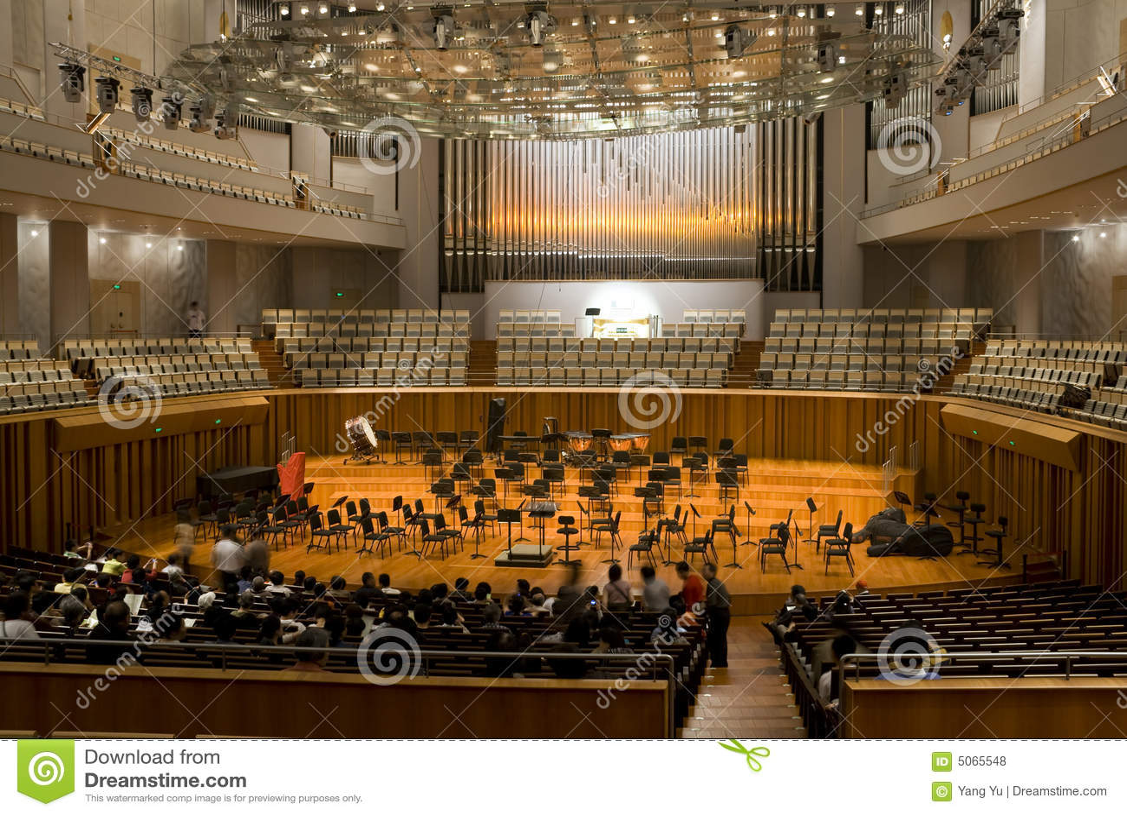 salle de concert photos libres de droits image 5065548