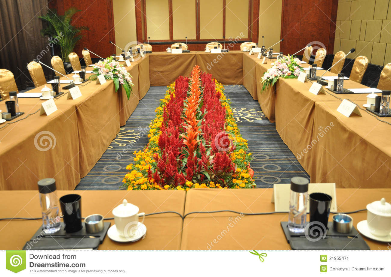 salle de conf rence image stock image 21955471