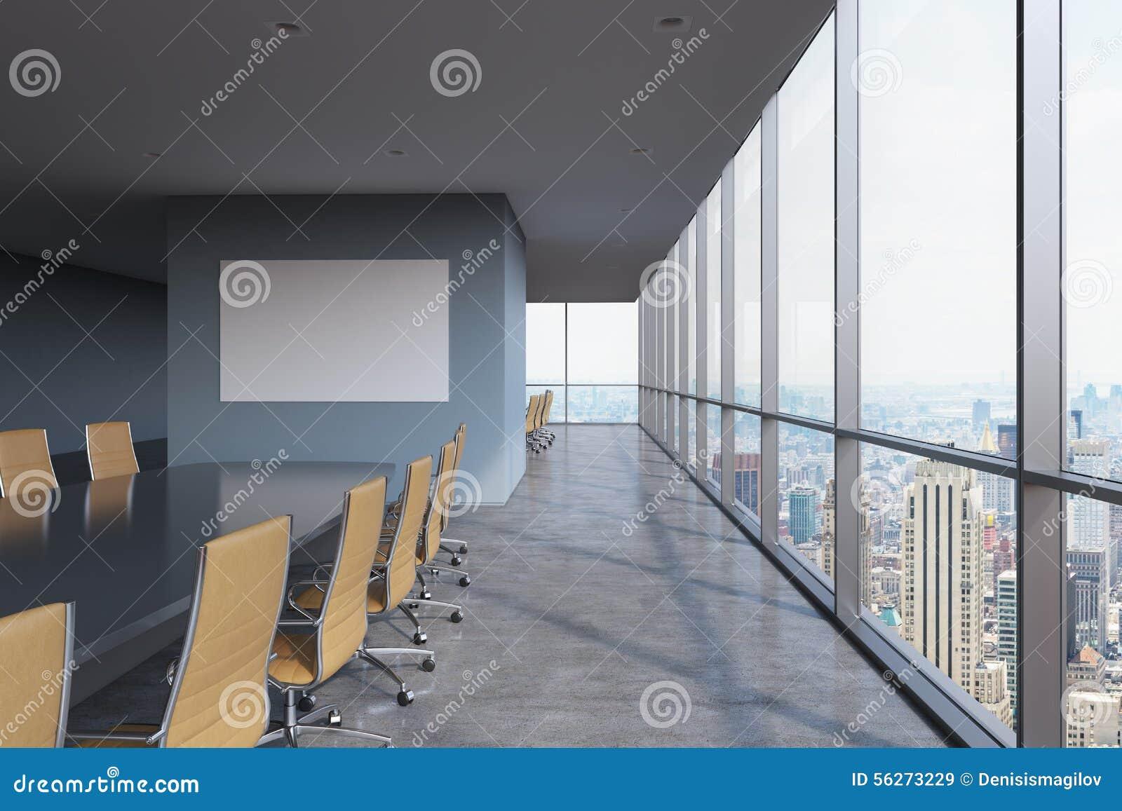 New Moderne Le York Panoramique À Salle De Conférence Bureau Dans dsCrxtohQB