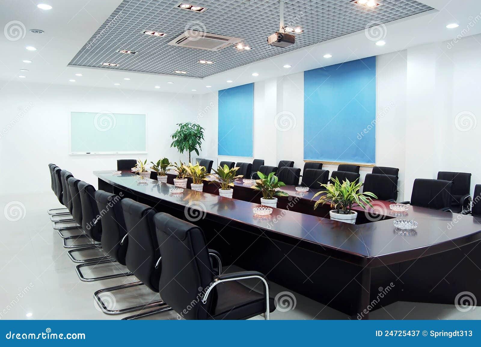 Salle de r union photographie stock libre de droits for Decoration salle de reunion