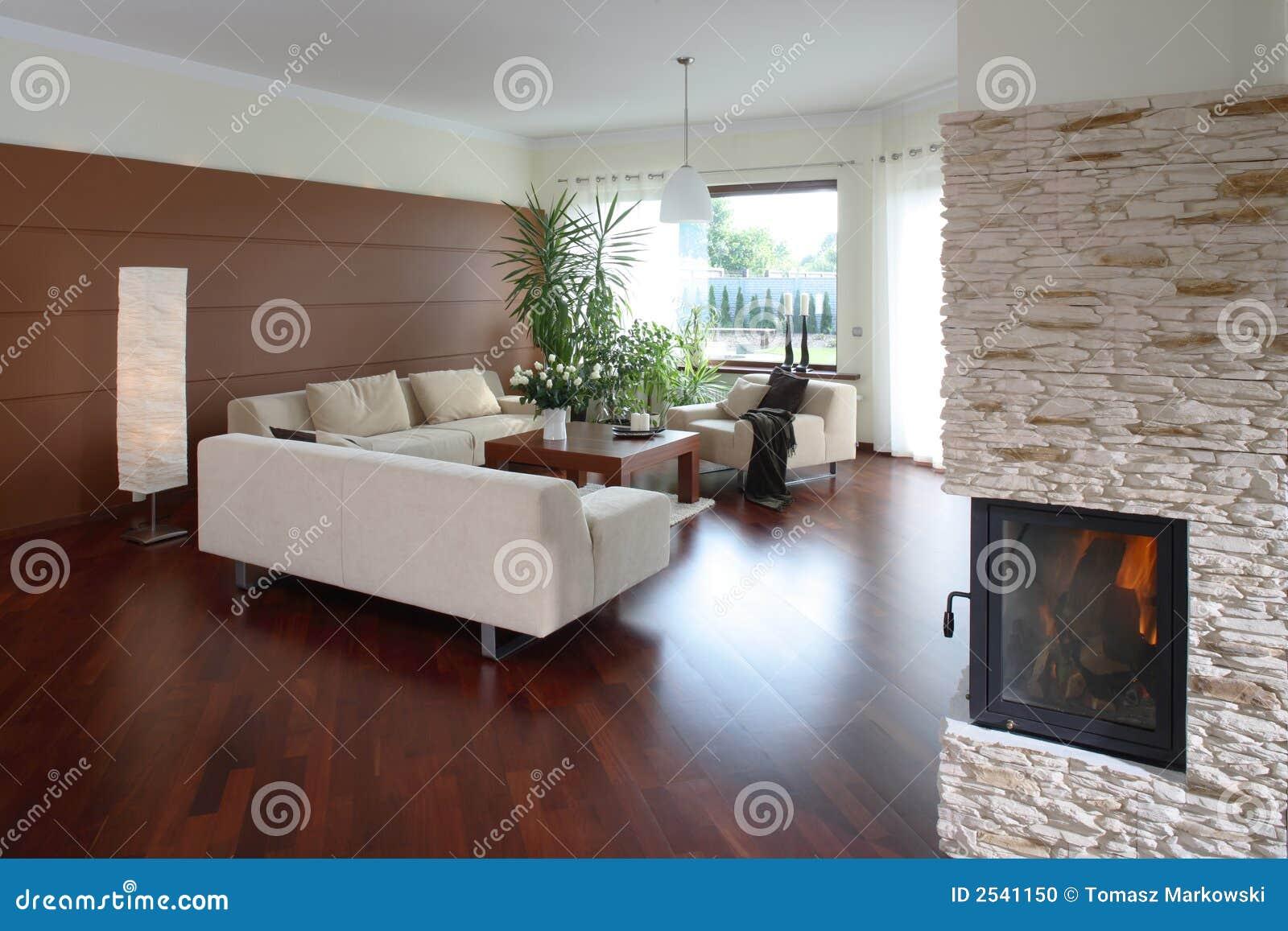 Salle de s jour moderne confortable photo stock image for Salle de sejour de luxe