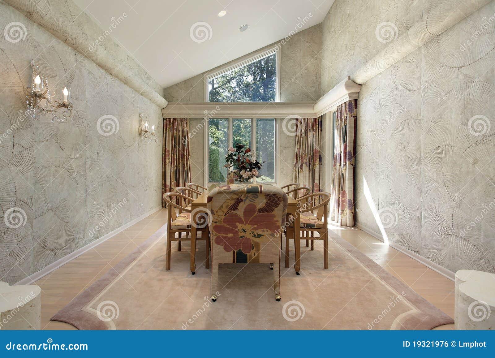 Salle manger avec la garniture de mur image libre de for La salle a manger sevres