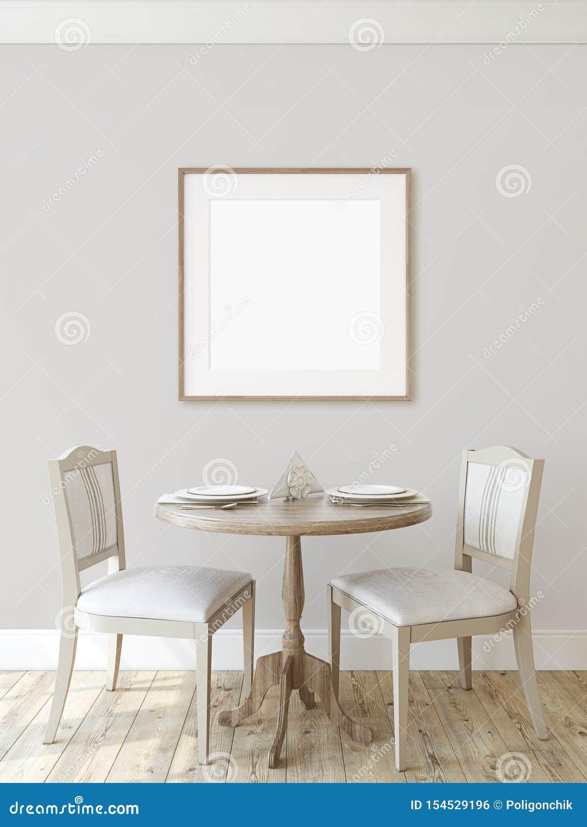 Salle ? Manger Moderne 3d Rendent Illustration Stock ...