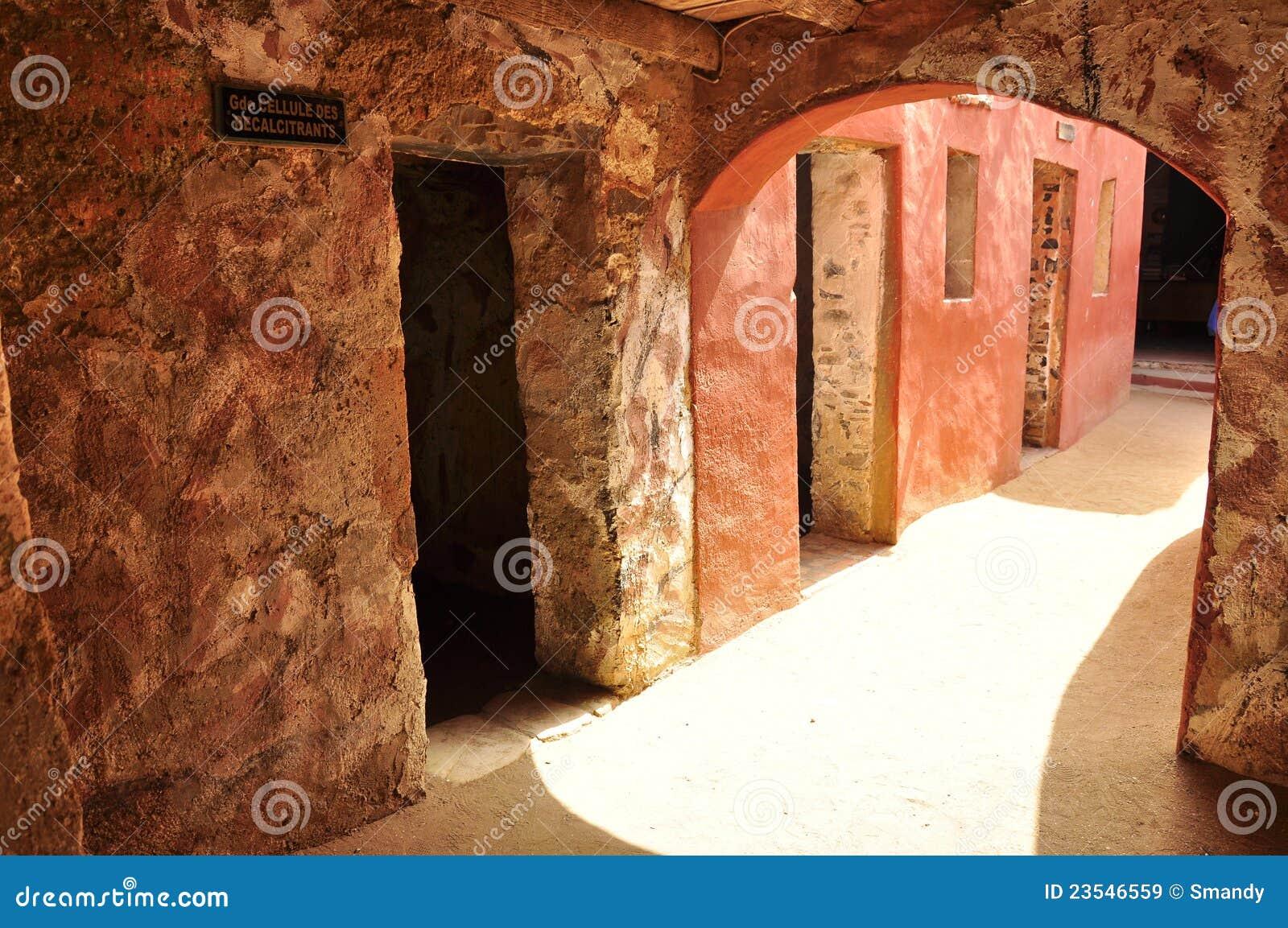 Salles des esclaves, maison des esclaves, Sénégal