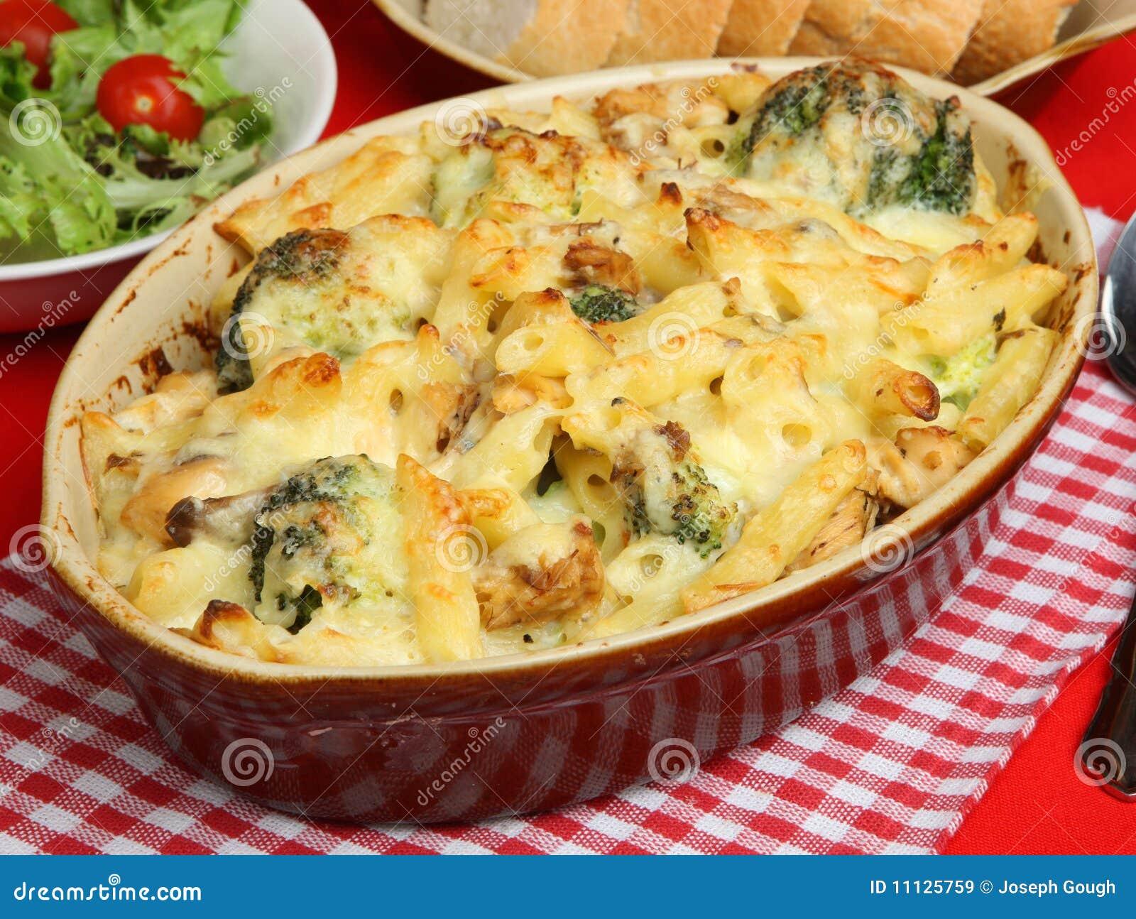 More Similar Stock Images Of Salmon Broccoli Pasta Bake