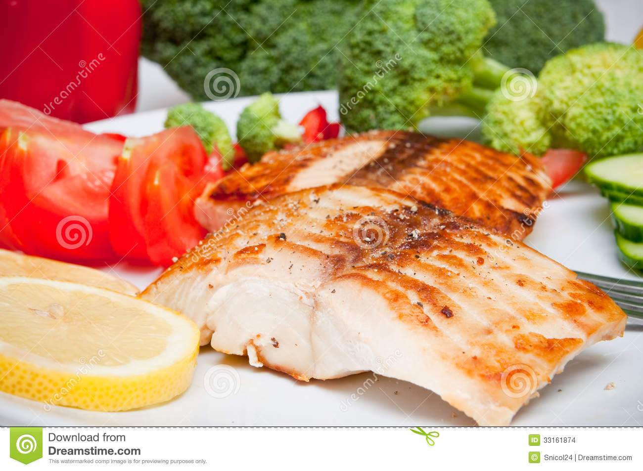 Salmon diet food stock images image 33161874 for Whole foods fish on sale this week