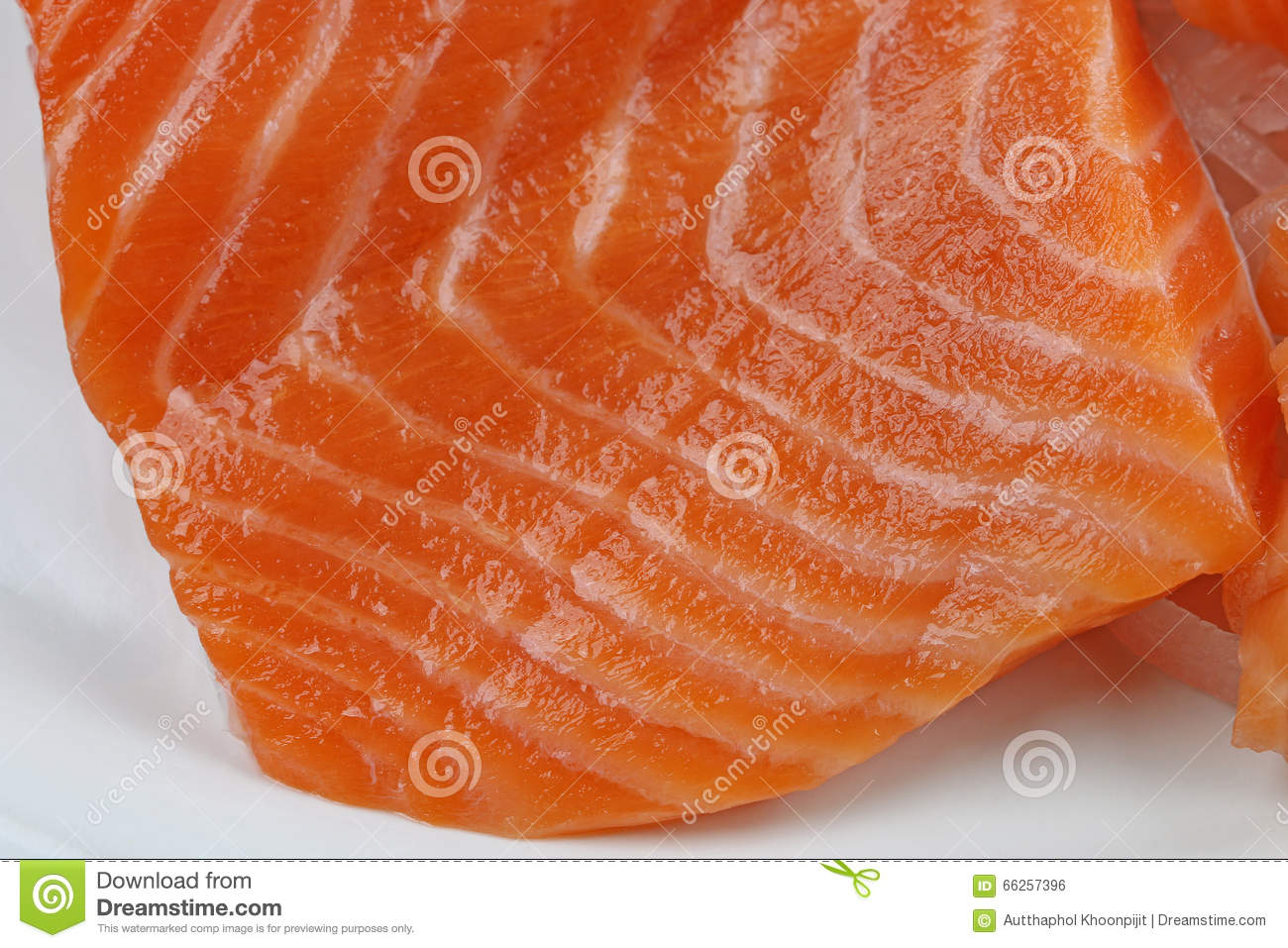 Salmon stock photo image 66257396 for Red fish fillet