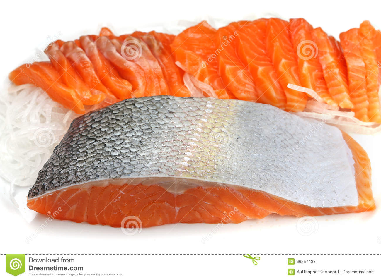 Salmon stock photo image 66257433 for Red fish fillet