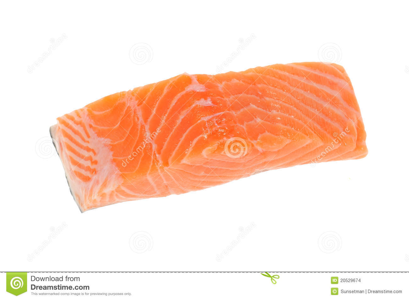 Salmon meat stock images image 20529674 for Is fish meat