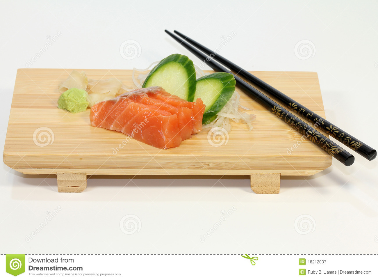 Salmon (Sake) Sushi Royalty Free Stock Photography - Image ...