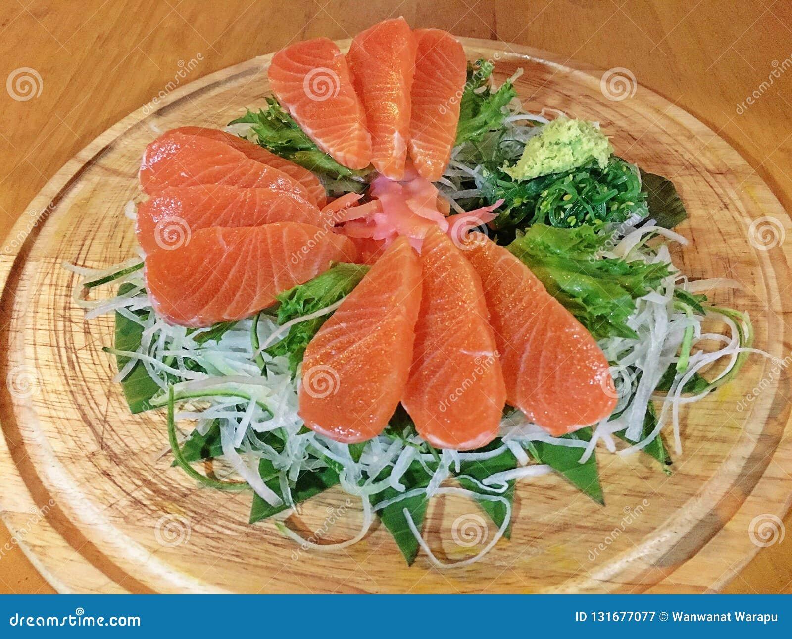 Salmon Sashimi adorabile