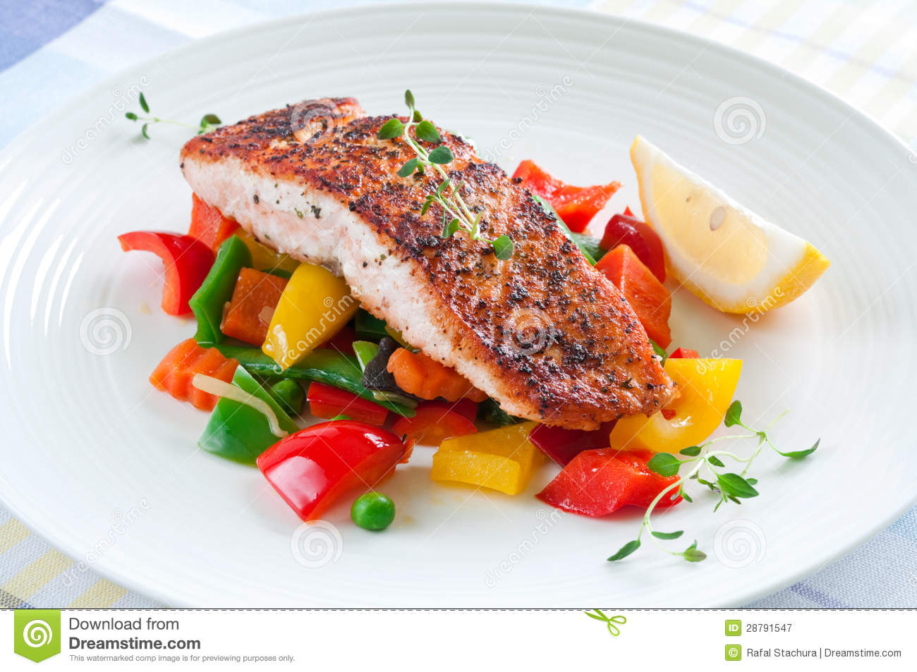 healthy grilled fish