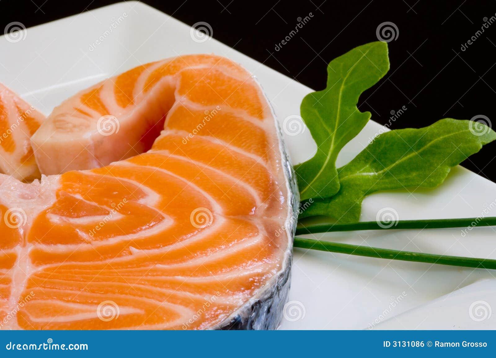 Salmoni freschi