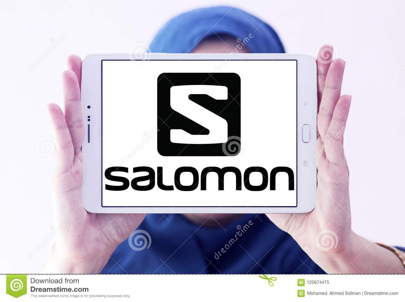 fcc9ce119669 Salomon Group logo editorial image. Image of signs, commercial ...