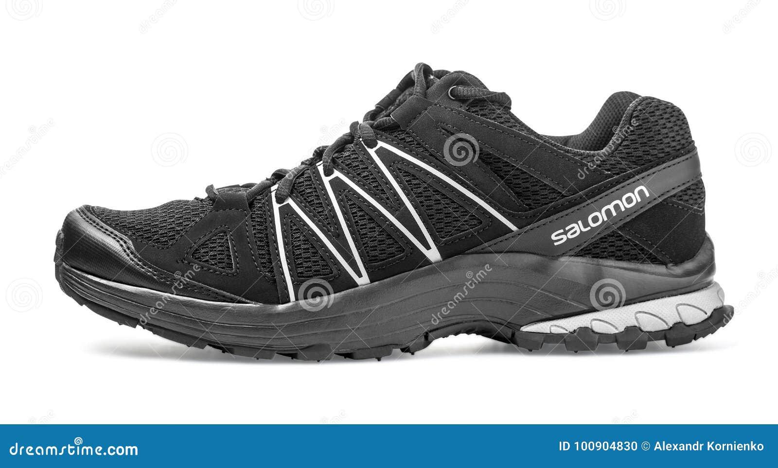 Salomon trail running shoe editorial